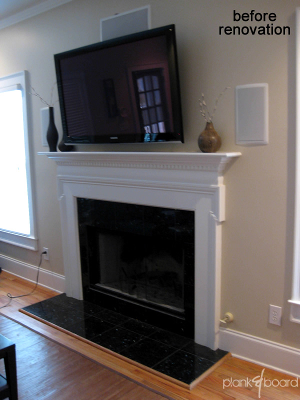 Custom woodworking atlanta woodworker magazine for Fireplace renovations before and after