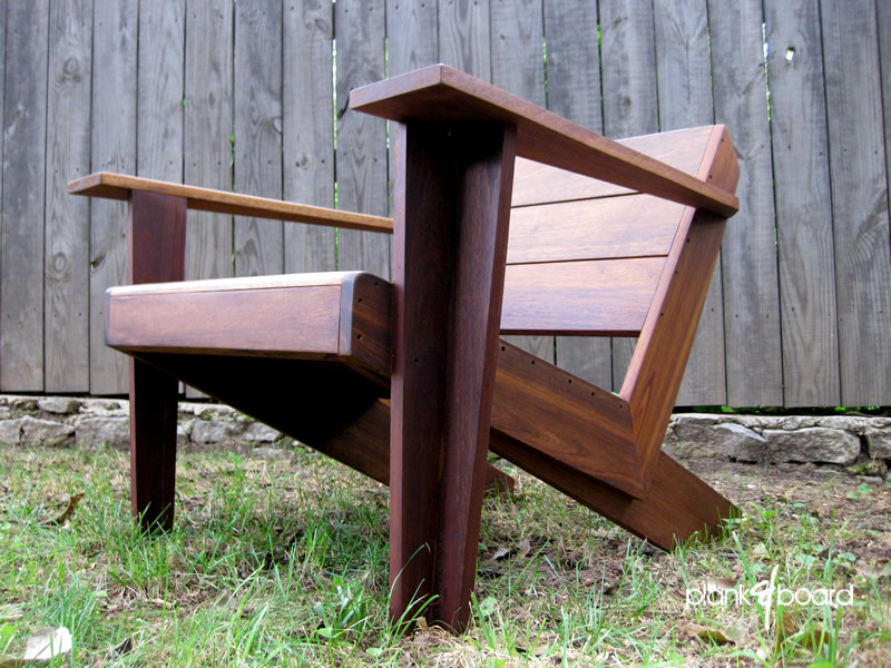Genial ModArondack. A Modern Take On The Classic Adirondack Chair